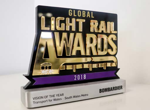 Light rail award vision of the year