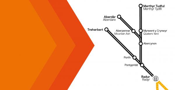 Trawsnewid y Metro: newidiadau i wasanaethau trên