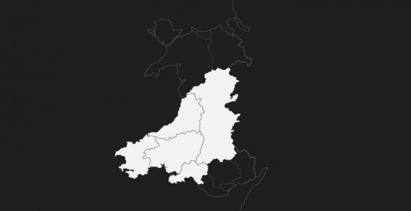 Beth sy'n digwydd yn Ne Orllewin a Chanolbarth Cymru