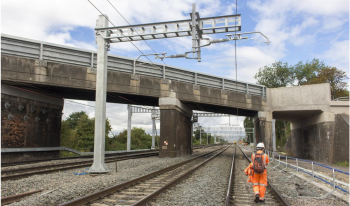 Overhead line electrification
